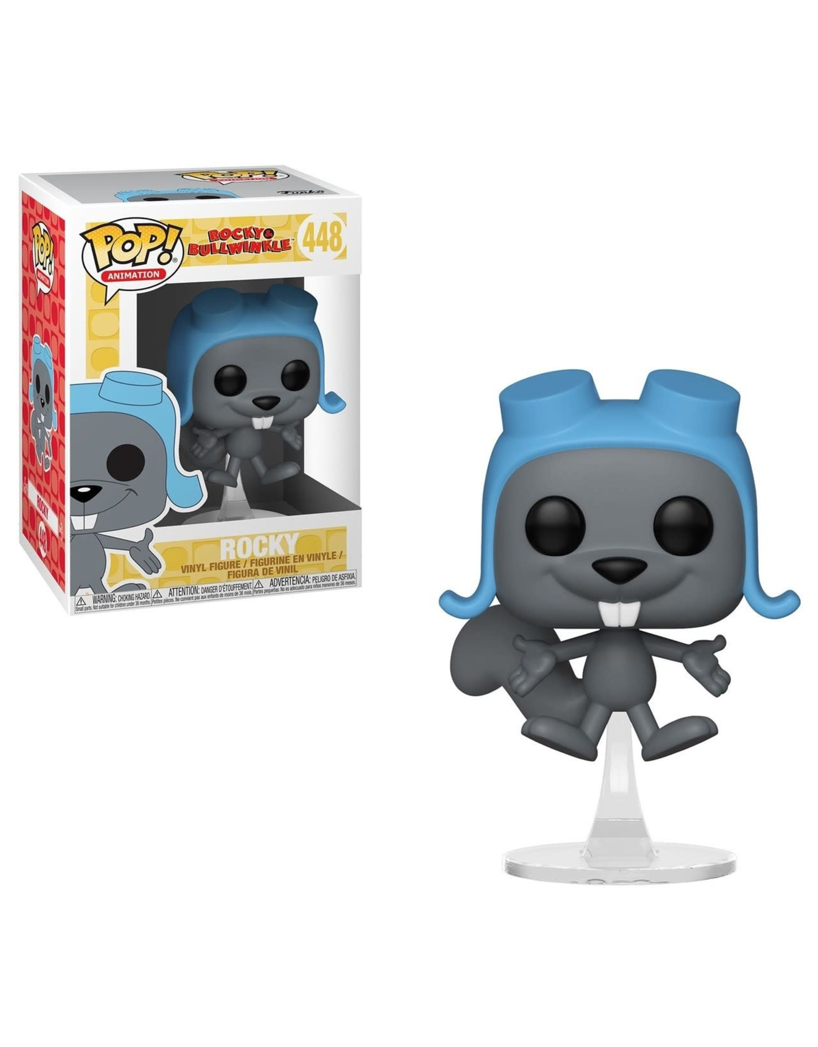 FUNKO POP ROCKY & BULLWINKLE FLYING ROCKY VINYL FIG