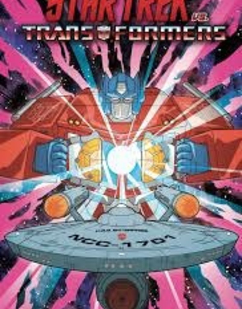 IDW PUBLISHING STAR TREK VS TRANSFORMERS TP