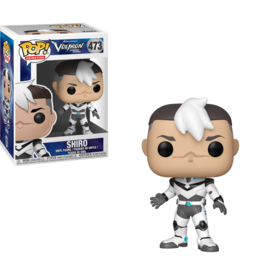 FUNKO POP VOLTRON SHIRO VINYL FIG