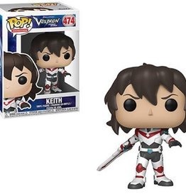 FUNKO POP VOLTRON KEITH VINYL FIG