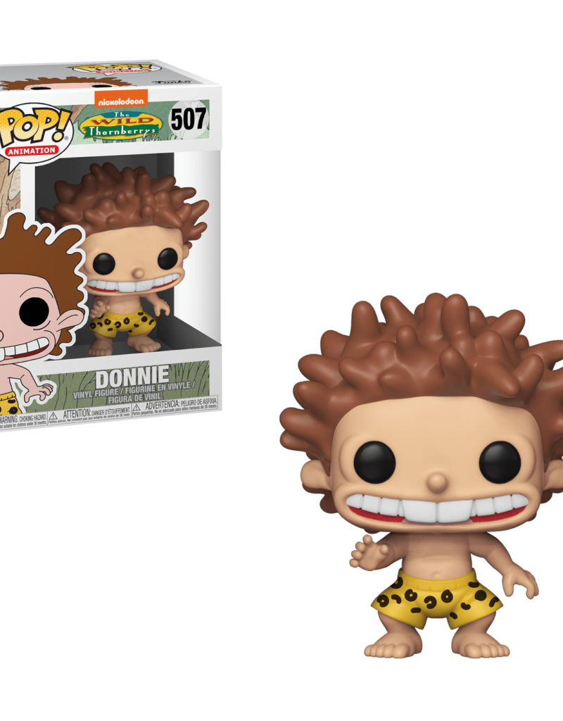 FUNKO POP 90S NICKELODEON WILD THORNBERRYS DONNIE VINYL FIG