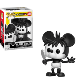 FUNKO POP DISNEY: MICKEY'S 90TH - PLANE CRAZY VINYL FIG