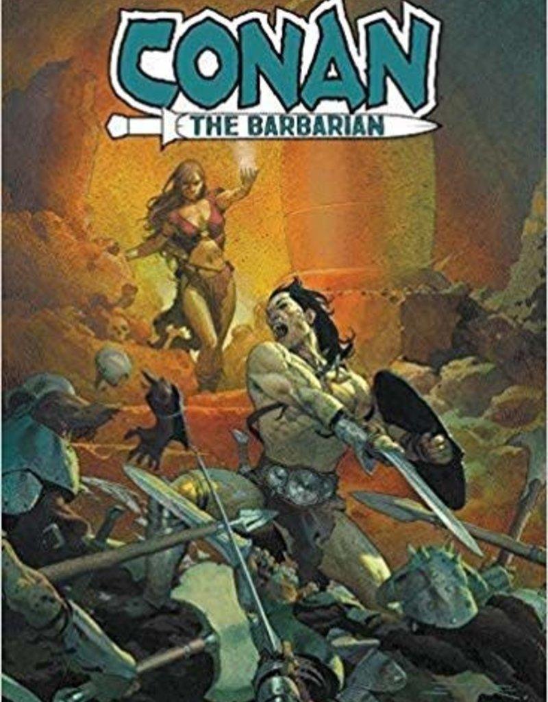 MARVEL COMICS CONAN THE BARBARIAN TP VOL 01 LIFE AND DEATH OF CONAN BOOK O