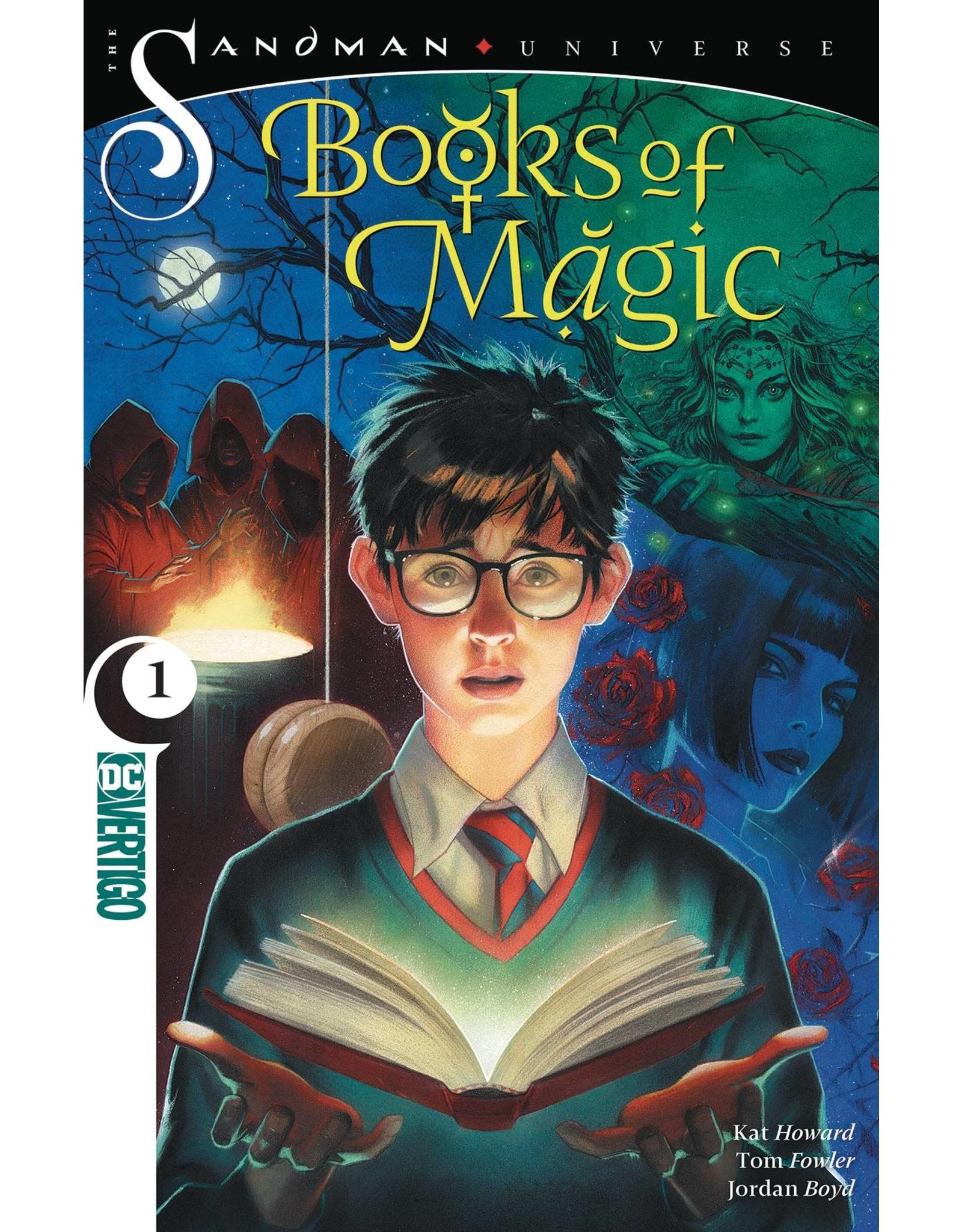 DC COMICS BOOKS OF MAGIC TP VOL 01 MOVEABLE TYPE