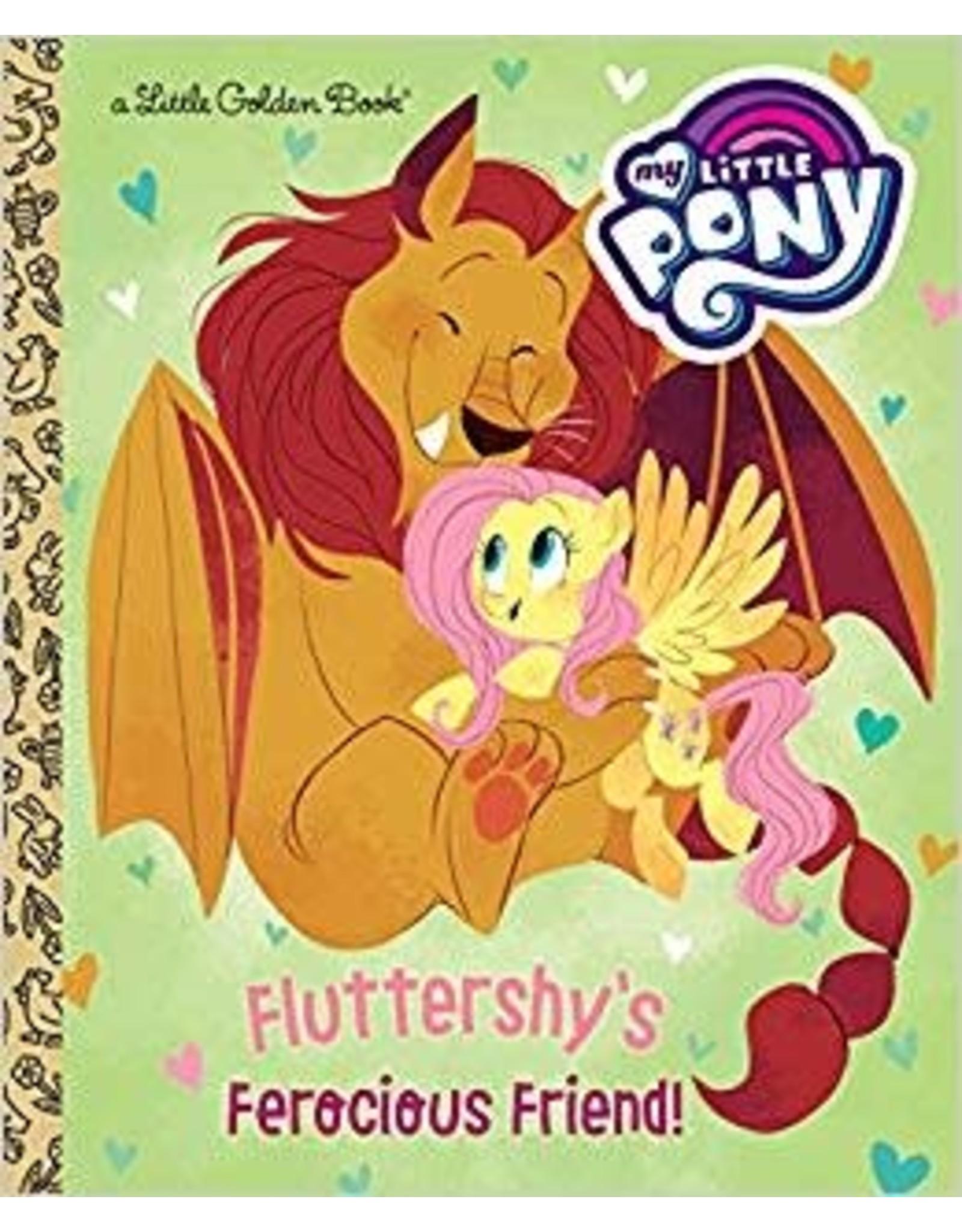 GOLDEN BOOKS FLUTTERSHYS FEROCIOUS FRIEND MLP LITTLE GOLDEN BOOK