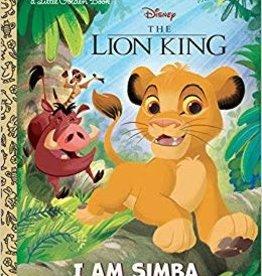 GOLDEN BOOKS DISNEY LION KING I AM SIMBA LITTLE GOLDEN BOOK