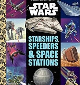 GOLDEN BOOKS STAR WARS STARSHIPS SPEEDERS LITTLE GOLDEN BOOK