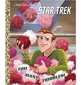 GOLDEN BOOKS STAR TREK TOO MANY TRIBBLES LITTLE GOLDEN BOOK