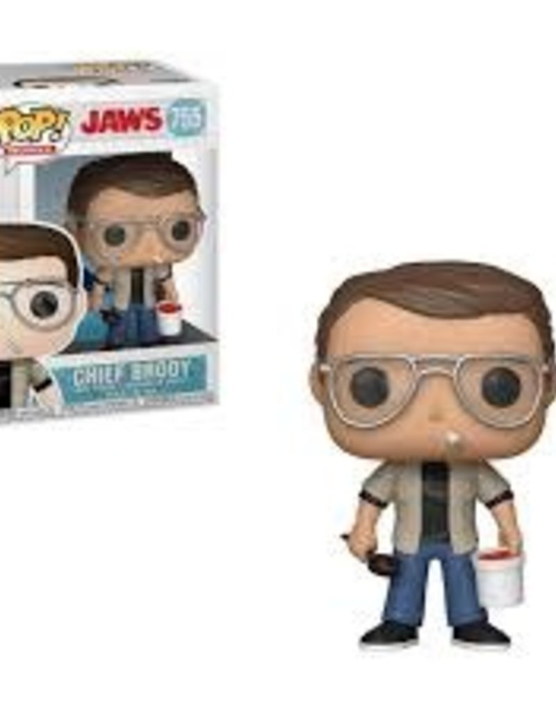 FUNKO POP JAWS CHIEF BRODY VINYL FIG