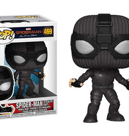 FUNKO POP SPIDER-MAN FAR FROM HOME SPIDER MAN STEALTH SUIT VINYL FIG