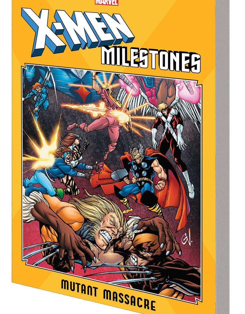MARVEL COMICS X-MEN MILESTONES TP MUTANT MASSACRE