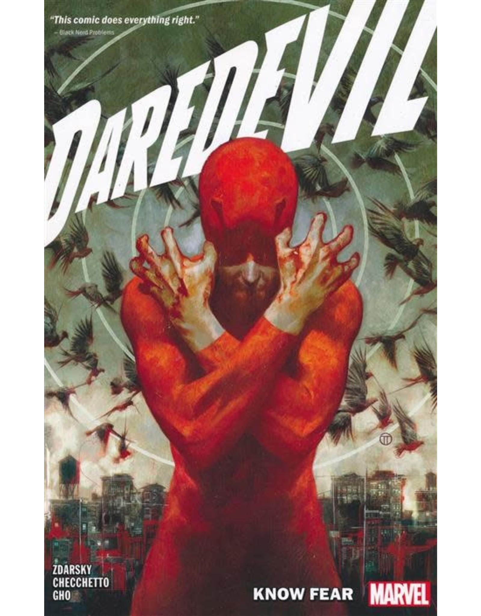 MARVEL COMICS DAREDEVIL BY CHIP ZDARSKY TP VOL 01 KNOW FEAR