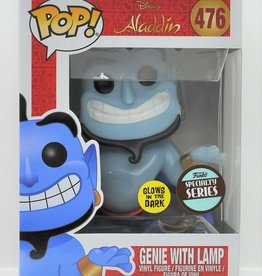 FUNKO POP DISNEY ALADDIN GENIE WITH LAMP GLOW IN THE DARK SPECIALTY SERIES VINYL FIG