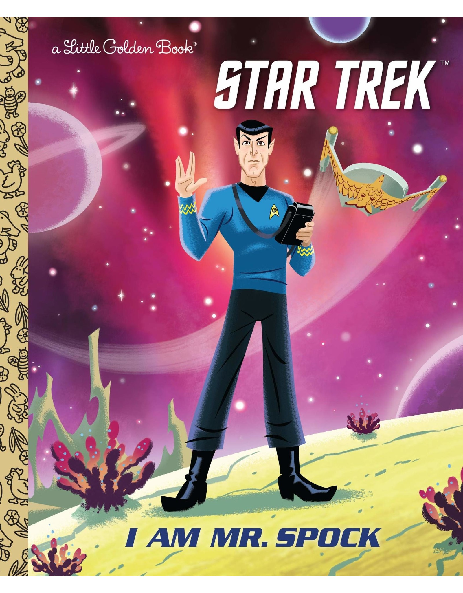 I AM MR. SPOCK (STAR TREK) LITTLE GOLDEN BOOK