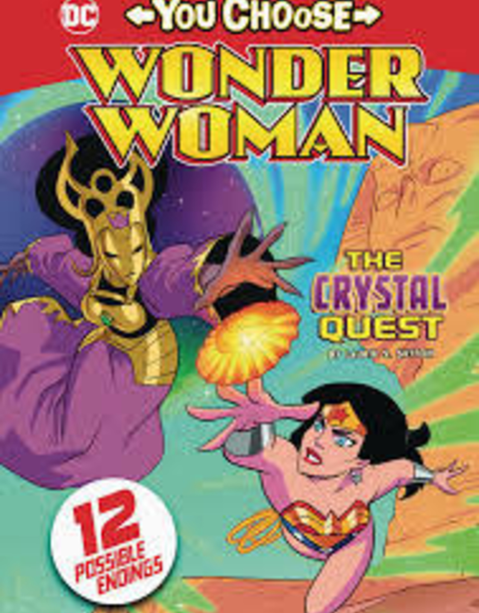 STONE ARCH BOOKS WONDER WOMAN YOU CHOOSE SC CRYSTAL QUEST