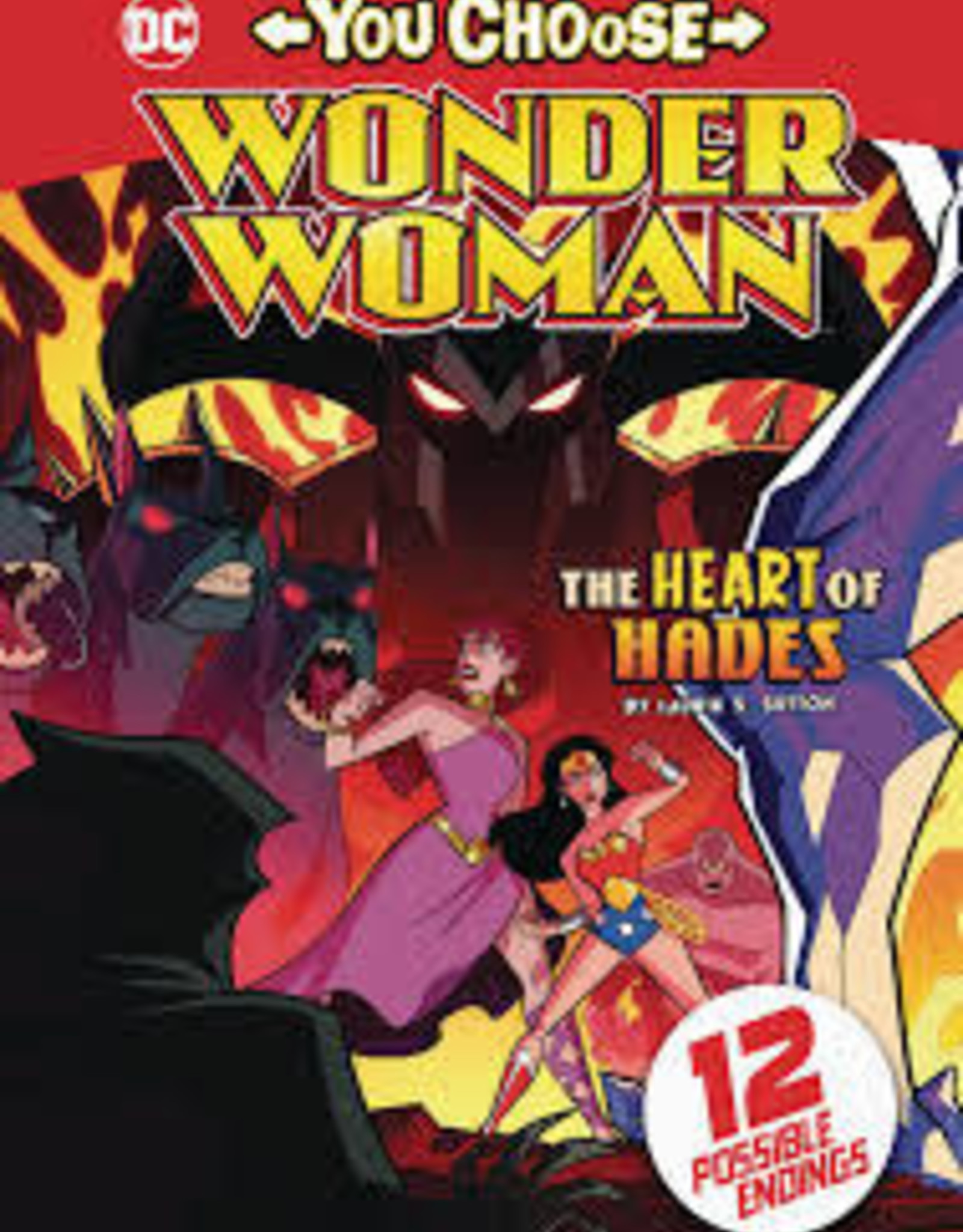 STONE ARCH BOOKS WONDER WOMAN YOU CHOOSE SC HEART OF HADES