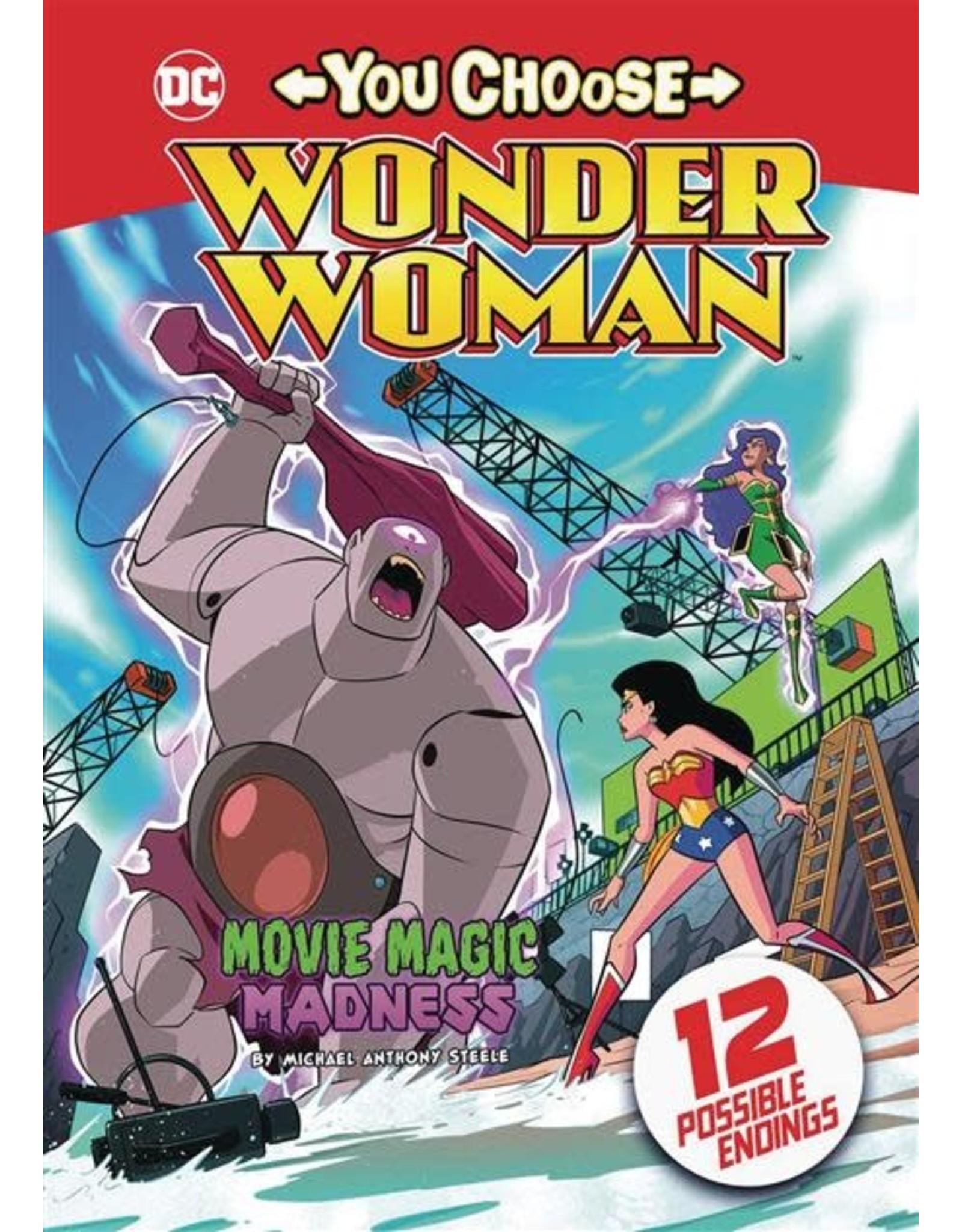 STONE ARCH BOOKS WONDER WOMAN YOU CHOOSE SC MOVIE MAGIC MADNESS