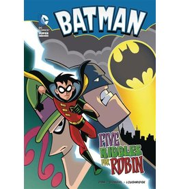 STONE ARCH BOOKS DC SUPER HEROES BATMAN YR TP FIVE RIDDLES FOR ROBIN