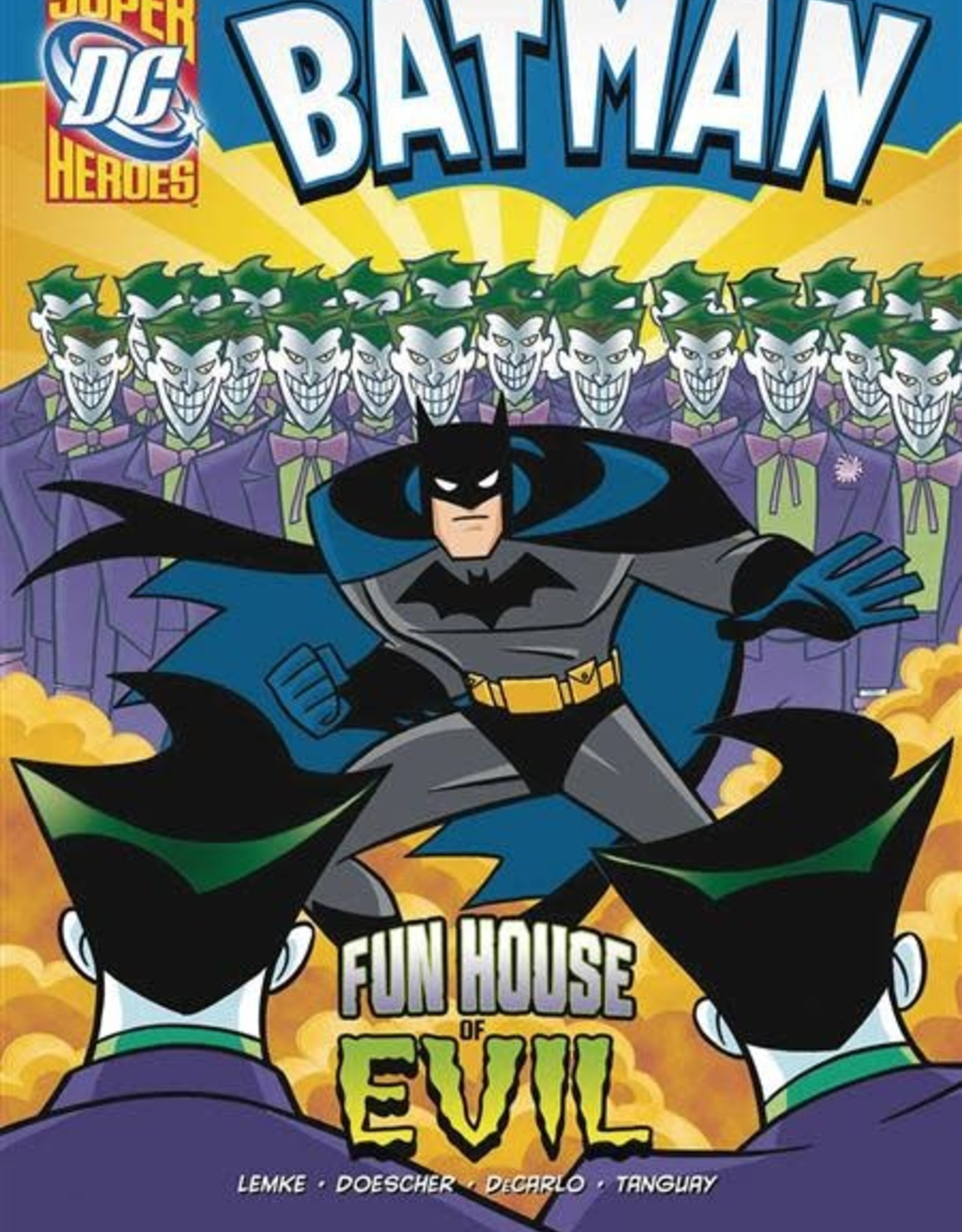 STONE ARCH BOOKS DC SUPER HEROES BATMAN YR TP FUN HOUSE OF EVIL