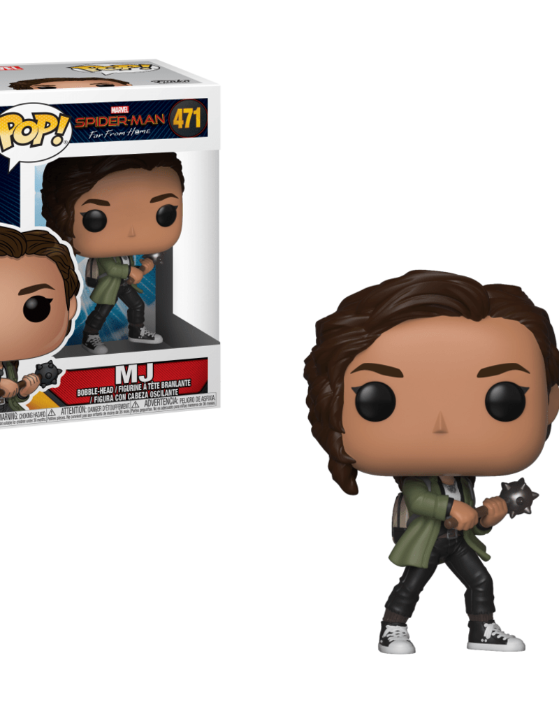 FUNKO POP SPIDER-MAN FAR FROM HOME MJ VINYL FIG
