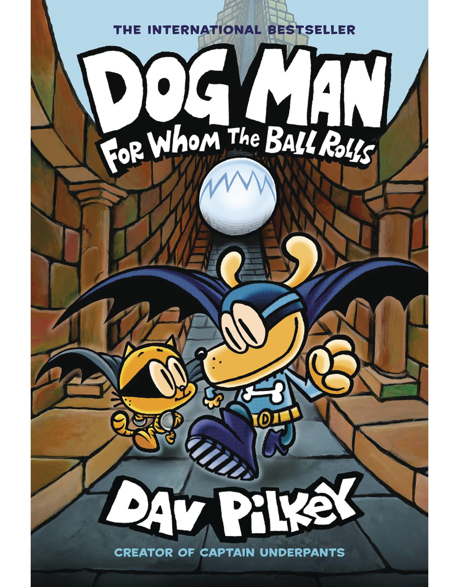 GRAPHIX DOG MAN GN VOL 07 FOR WHOM BALL ROLLS