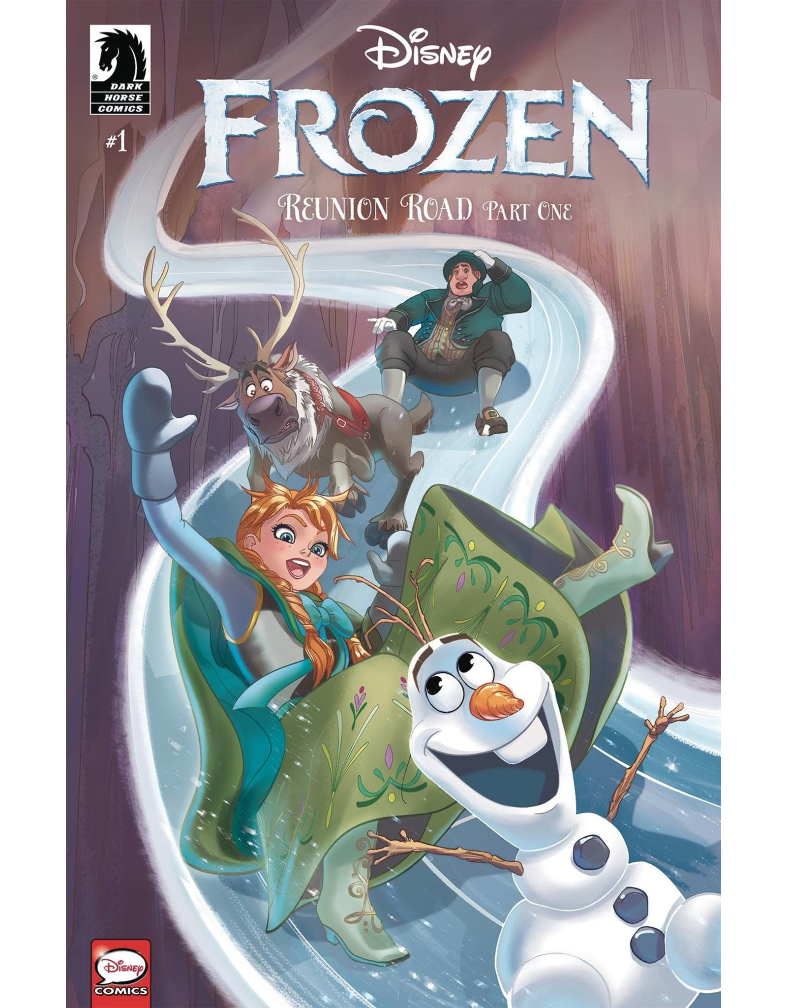 DARK HORSE COMICS DISNEY FROZEN TP REUNION ROAD