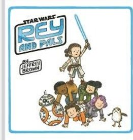 TOUCHSTONE STAR WARS REY AND PALS HC