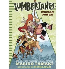 AMULET BOOKS LUMBERJANES ILLUS SC NOVEL VOL 01 UNICORN POWER