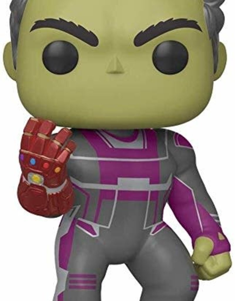 "FUNKO POP MARVEL ADVENGERS ENDGAME HULK WITH GAUNTLET 6"" VINYL FIG"