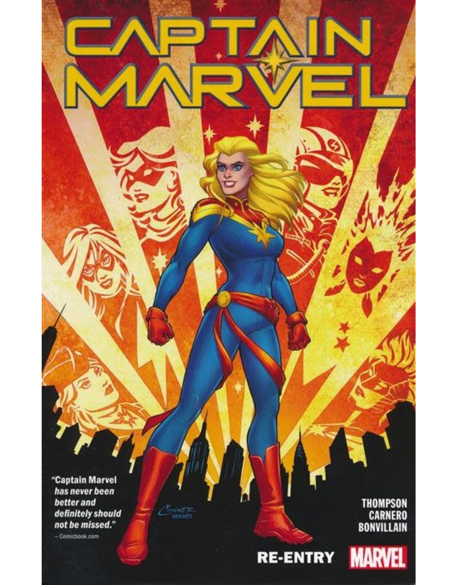 MARVEL COMICS CAPTAIN MARVEL TP VOL 01 RE-ENTRY