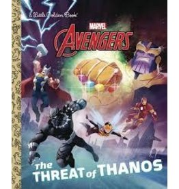 Penguin Random House THE THREAT OF THANOS (MARVEL AVENGERS) LITTLE GOLDEN BOOK