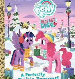 GOLDEN BOOKS MLP BEST GIFT EVER PERFECT PINKIE PRESENT LITTLE GOLDEN BOOK