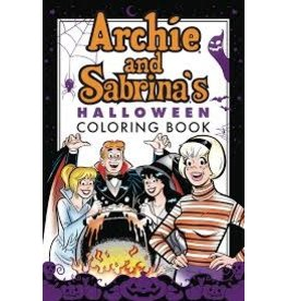 ARCHIE COMIC PUBLICATIONS ARCHIE & SABRINA HALLOWEEN COLORING BOOK SC