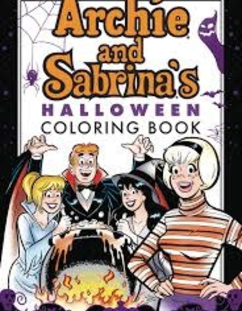 ARCHIE COMIC PUBLICATIONS ARCHIE & SABRINA HALLOWEEN COLORING BOOK SC