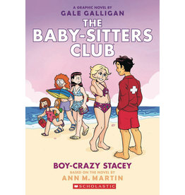 GRAPHIX BABY SITTERS CLUB COLOR ED GN VOL 07 BOY-CRAZY STACEY