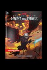 WIZARDS OF THE COAST D&D 5E BALDUR'S GATE DESCENT INTO AVERNUS HC