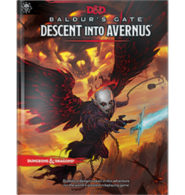 WIZARDS OF THE COAST D&D 5E BALDUR'S GATE DESCENT INTO AVERNUS HC