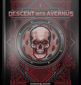 WIZARDS OF THE COAST D&D 5E BALDUR'S GATE DESCENT INTO AVERNUS HC LE