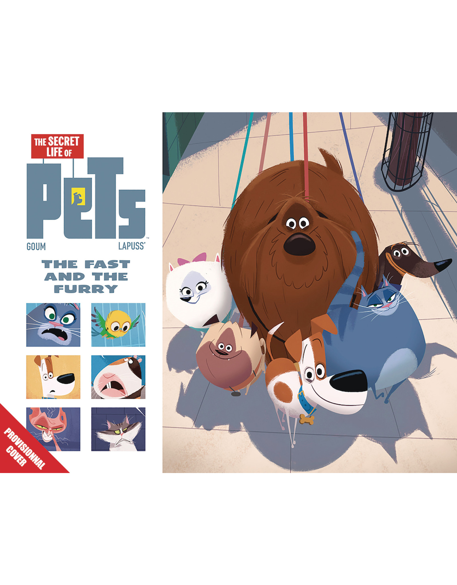 TITAN COMICS SECRET LIFE OF PETS HC GIFT BOOK