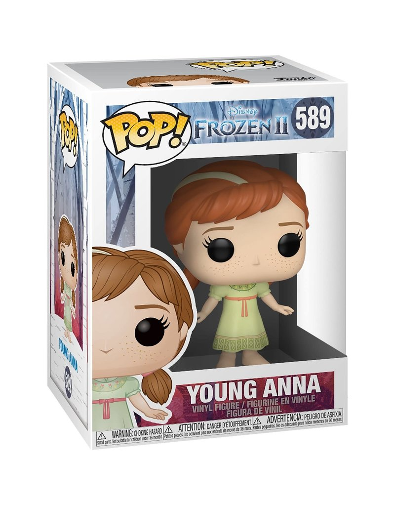 FUNKO POP FROZEN II YOUNG ANNA VINYL FIG