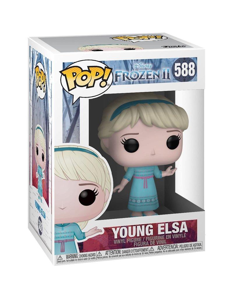 FUNKO POP FROZEN II YOUNG ELSA VINYL FIG