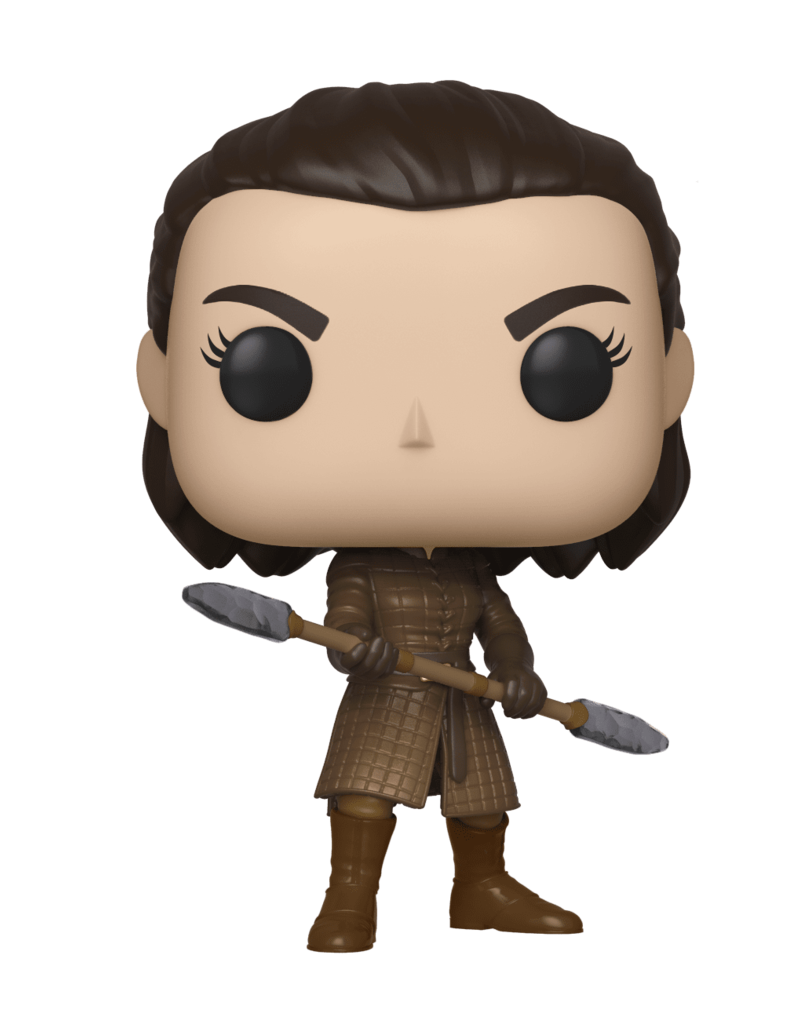 FUNKO POP GAME OF THRONES ARYA STARK WITH TWO-HEADED SPEAR VINYL FIG