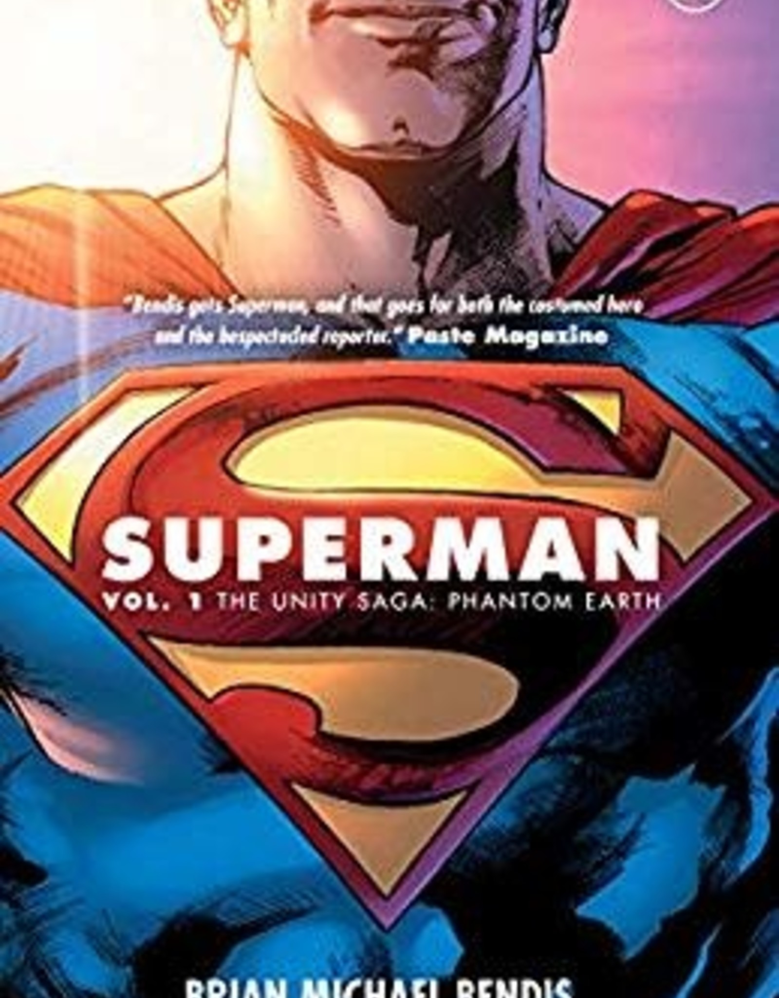 DC COMICS SUPERMAN TP VOL 01 THE UNITY SAGA PHANTOM EARTH