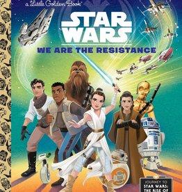GOLDEN BOOKS STAR WARS LITTLE GOLDEN BOOK WE ARE RESISTANCE