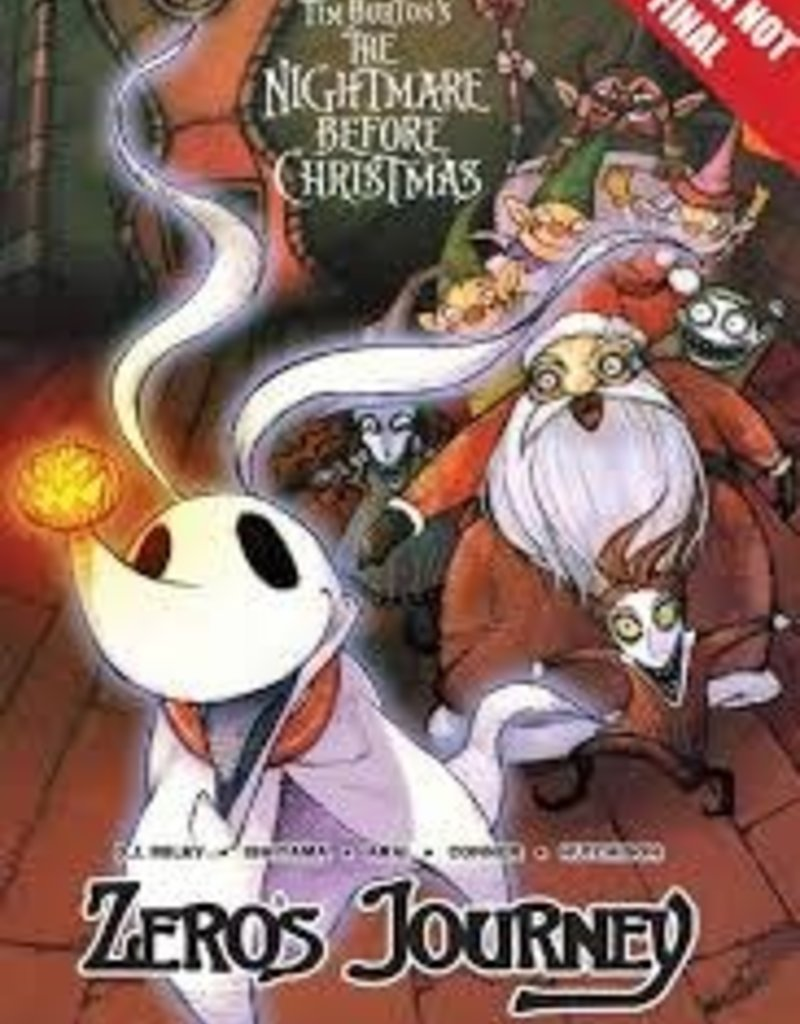 TOKYOPOP DISNEY MANGA NIGHTMARE CHRISTMAS ZEROS JOURNEY TP VOL 03