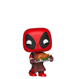 FUNKO POP MARVEL HOLIDAY DEADPOOL SUPPER HERO VINYL FIG