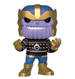 FUNKO POP MARVEL HOLIDAY THANOS VINYL FIG