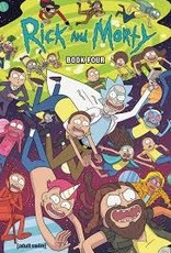 ONI PRESS INC. RICK AND MORTY HC BOOK 04 DLX ED