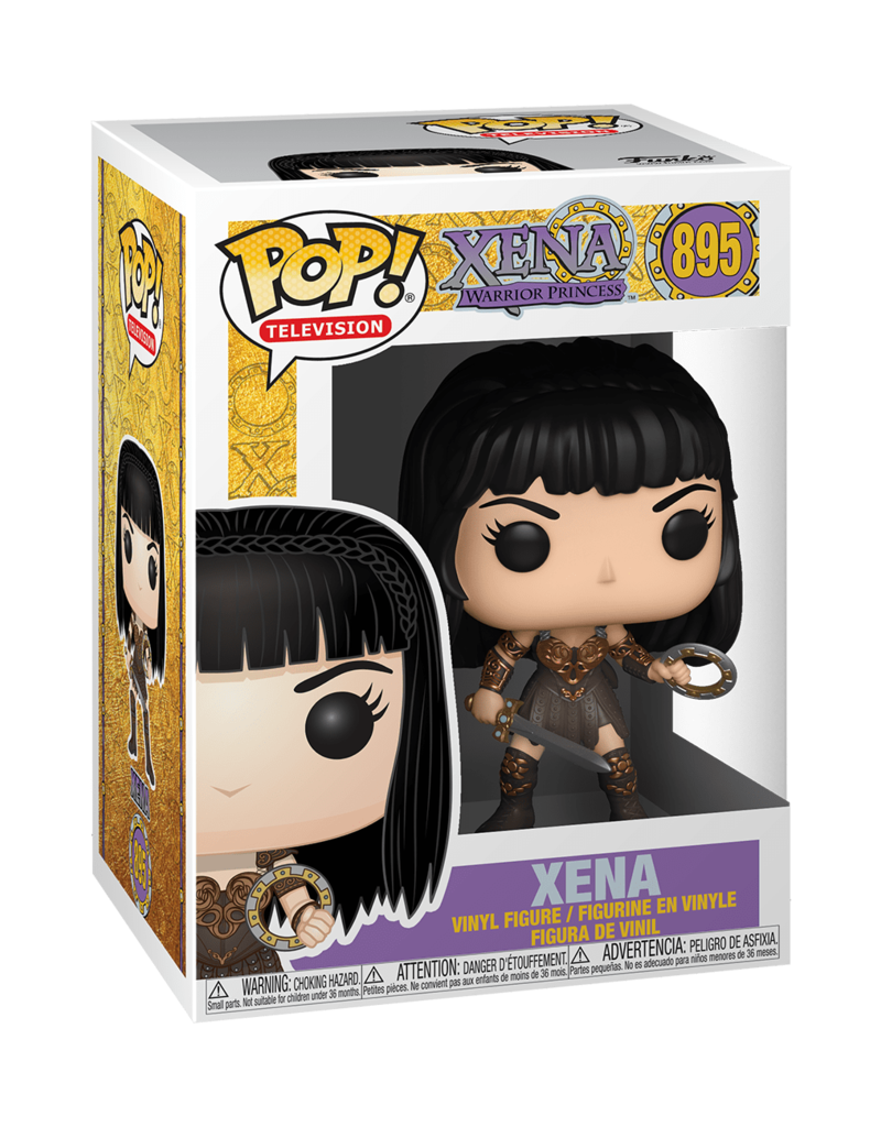FUNKO POP TV XENA WARRIOR PRINCESS XENA VINYL FIG