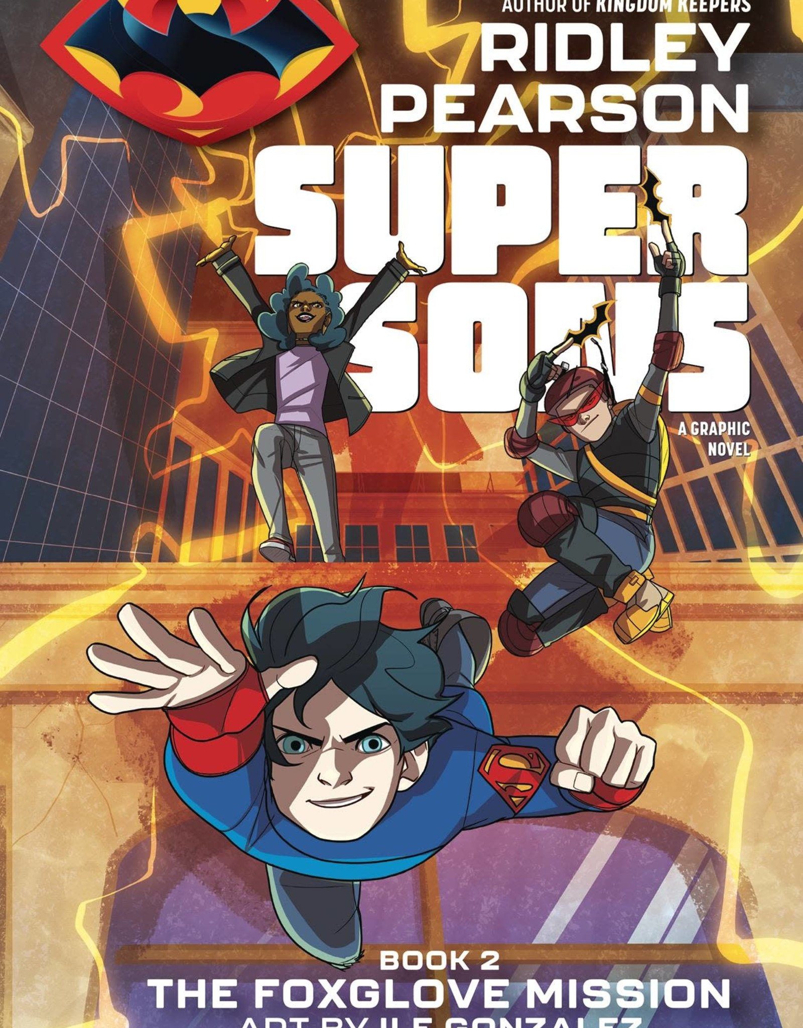 DC COMICS SUPER SONS BOOK 02 THE FOXGLOVE MISSION TP DC ZOOM